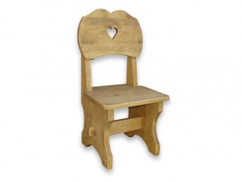 Krzesło z drewna świerkowego Mexicana 7