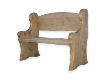 Ławka z drewna świerkowego Mexicana 1
