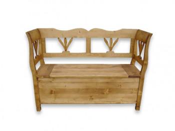 Ławka z drewna świerkowego Mexicana 3
