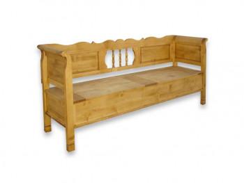 Ławka z drewna świerkowego Mexicana 5