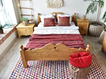Łóżko drewniane Mexicana 2 160x200