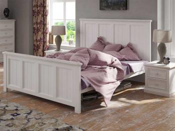 Łóżko z dębowym wieńcem Aldea 180