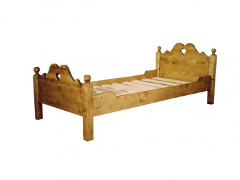 Łóżko z drewna świerkowego Mexicana 2 90x190
