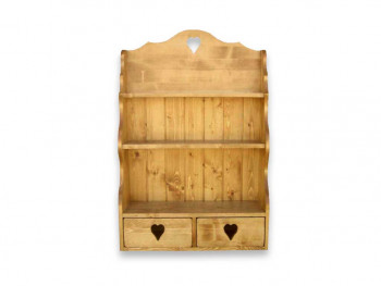 Półka wisząca z drewna świerkowego Mexicana 2