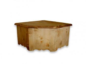 Skrzynia narożna drewniana Mexicana 1