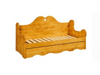 Sofa z drewna świerkowego Mexicana 2