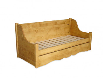 Sofa z drewna świerkowego Mexicana 4