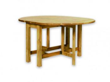 Stół składany z drewna świerkowego Mexicana 4