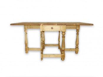 Stół składany z drewna świerkowego Mexicana 5