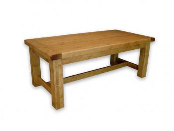 Stół rozkładany z drewna świerkowego Mexicana 6