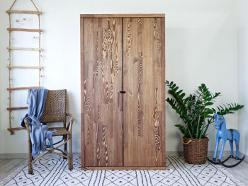 szafa drewniana do salonu