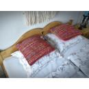 Łóżko z drewna świerkowego 160x200