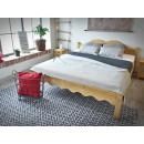 Łóżko z drewna świerkowego Mexicana 3 160