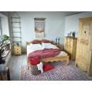 Łóżko z drewna świerkowego Mexicana 160