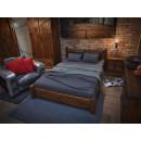 rustyklane, stylowa sypialnia