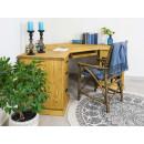 biurko drewniane narożne