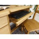 biurko z miejscem na klawiature
