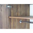 drążek szafa drewniana