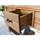 drewniana konsola rustykalna
