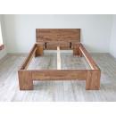 drewniana rama łózka