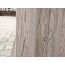 Drewniany bok szafki rtv