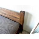 drewniane lozko