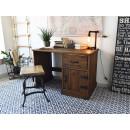 drewniane biurko do pokoju