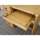 biurko z podstawka pod klawiature