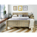 drewniane łóżko sosnowe