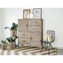 drewniane meble aranżacja salonu