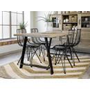 drewniany blat stół