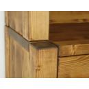 drewniany kredens do nowoczesnej kuchni