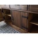 drzwiczki komoda drewniana