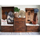 drewniana garderoba do przdpokoju