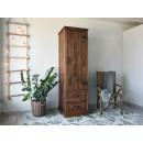 drewniana szafa jednodrzwiowa