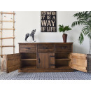 komoda drewniana do salonu