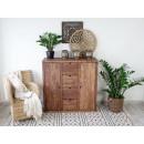 komoda drewniana w stylu nowoczesnym