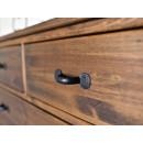drewniana komoda rustykalna