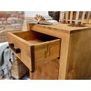 komoda z drewna sosnowego