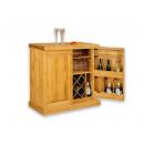 komoda drewniana na wino