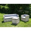 Sofa i ława do ogrodu