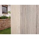 Drewniana ściana kredensu