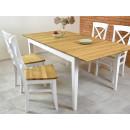 krzesła drewniane stół drewniany zestaw