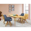 krzesła tapicerowane w aranżacji
