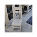 krzeslo z litego drewna
