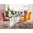 krzesło tapicerowane z uchwytem