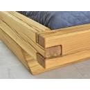 łaczenie łóżka drewnianego