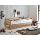mlodziezowe dębowe łóżko
