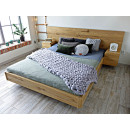 łóżko drewniane dębowe