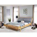 łóżko drewniane dębowe nowoczesne